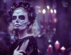 skull makeup